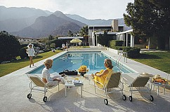 Slim Aarons 50th Anniversary Poolside Party