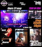 Southbank Crows; Elliot Falla; Beth Monroe; Wolhemian; Maria Casals;