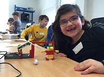 Sporty Robots! with Lego WeDo (ages 6-9)