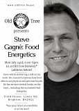 Steve Gagne: Food Energetics