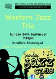Sunday Jazz Club - feat. The Western Jazz Trio