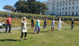 Tai Chi on the Crescent