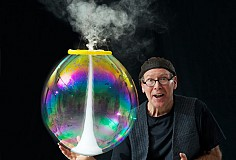The Amazing Bubble Man: 2 shows 11.30am and 2pm
