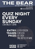 The Bear Quiz Night