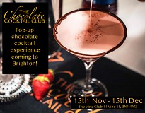 The Chocolate Cocktail Club Brighton Christmas Pop-Up