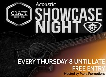 The Craft Beer Co: Acoustic Showcase Night