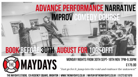 The Maydays Advanced Performance Narrative Improv Comedy Course