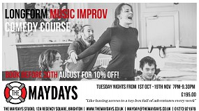 The Maydays Longform Music Improv Comedy Course