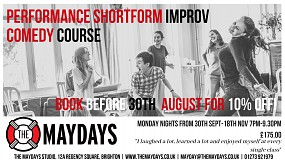 The Maydays Performance Shortform Improv Comedy Course