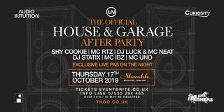 The Official House and Garage After Party