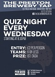 The Preston Brewery Tap Quiz Night
