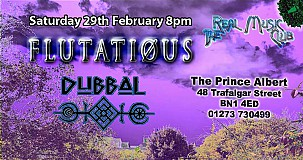 The Real Music Club Presents Flutatious + Dubbal