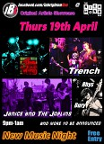 The Wipes; Trench; Janice and the Joplins; Rhys Bury; TBA: IBL