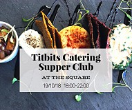 Titbits Catering// Vegan Supper Club//Pop-up #atTheSquare
