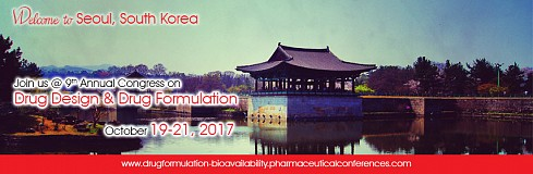 """9th Annual Congress on Drug Design  & Drug Formulation"""
