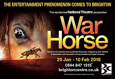 War Horse comes to Brighton