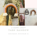 Yarn Rainbow Wall Hanging Workshop