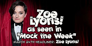 Zoe Lyons headlines The Secret Comedy Club
