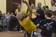 Capoeira Class For Kids