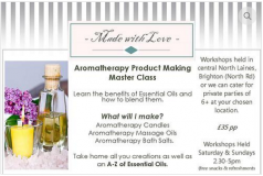 Aromatherapy Candles, Salts & Oils - Saturdays