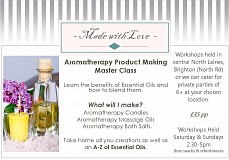 Aromatherapy Blending - Candles, Bath & Oils