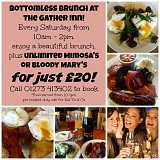 Bottomless Brunch @ the Gather Inn, Hove!