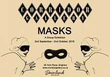 """Masks"" a Group Exhibition at Corridor Gallery"