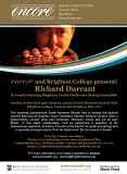 encore and Brighton College present: Richard Durrant & award winning BYO String Ensemble
