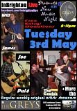 InBrighton Live Presents: #71 @The Greys: Tue 3 May 2016: The Goulds, Joe Pulé, Will James + More tba - Free-Donations 8pm
