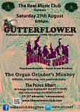 Real Music Club presents Gutterflower, Deviant Amps and The Organ Grinder