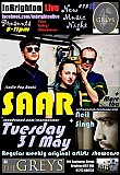 SAAR: Neil Singh & more TBA - InBrighton Live Presents: #75 @The Greys: Tues31 May 2016: Free Entry/Donations 8pm