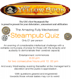 Steam Powered Pub Quiz at The Yellow Book
