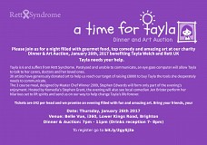 A Time For Tayla: Dinner and Art Auction