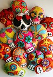 Mexican Day of the Dead family friendly sewing workshops