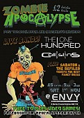 >ZOMBIE APOCALYPSE< Featuring The One Hundred & Collisions LIVE! Post 90