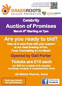 Celebrity Auction of Promises