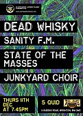 Overhead Wires Music Presents... Dead Whisky + support