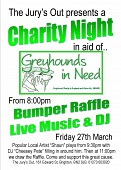 Greyhounds In Need Charity Night