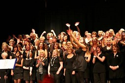 free taster with fun, friendly pop, soul & gospel choir, shower singers welcome