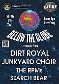 "Overhead Wires Music Presents... ""Below The Globe"""