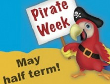 May Half Term is Pirate Week at Spring Barn Farm!