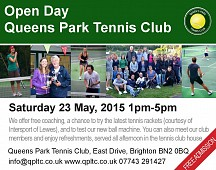 Open Day at Queens Park Tennis Club