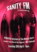 Sanity FM (acoustic session) + support