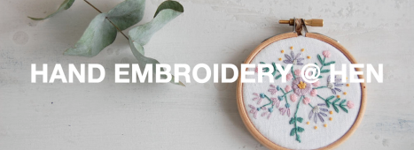 INTRODUCTION TO HAND EMBROIDERY by Emma Longbottom / #SummerChicks Workshop