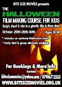 THE ZOMBIE FILM MAKING COURSE FOR ADULTS