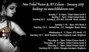 Tribal Fusion Belly Dance Classes