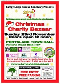 CHARITY CHRISTMAS BAZAAR FOR ANIMAL SHELTERS