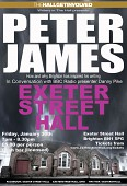 Writers in the Hall presents Peter James in conversation with Danny Pyke