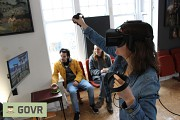 Virtual reality games and experiences at GOVR VR cafe