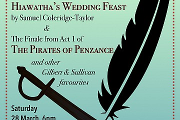 Brighton Voices sing Hiawatha's Wedding Feast & Pirates of Penzance